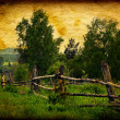 Vintage Photo of Countryside — Stock Photo