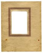 Vintage papper med ram — Stockfoto