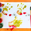 Stock Photo: Watercolour Stain