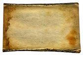 Papel antiguo aislado — Foto de Stock