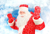 Happy Santa Claus — Stockfoto
