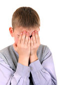 Sorrowful Boy — Stock Photo