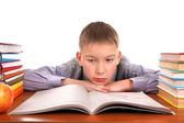 Bored Schoolboy — Stockfoto
