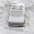 Frozen Car — Stockfoto