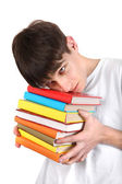 Student with a Books — Stock Photo