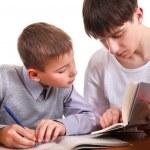 Homework Together — Stock Photo