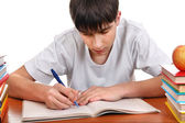 Student writing — Stock Photo