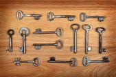 Old Keys Set — Stock Photo