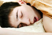 Teenager sleep — Stock Photo