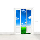 Door to Nature — Stock Photo