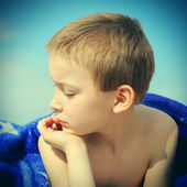Kid at the Beach — Stock Photo