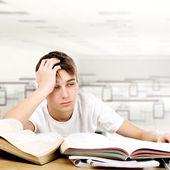 Sad Student — Stock Photo