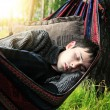 Young Man sleeping — Stock Photo #46933257
