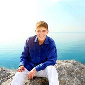 Teenager at Seaside — Stock Photo