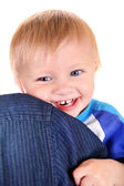 Happy Baby Boy — Stock Photo