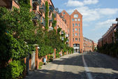 Teerhof street in Bremen — Stock Photo