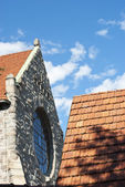 Tampere cathedral roofs — Stock Photo