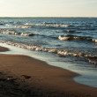 Lake Ladoga beach — Stock Photo