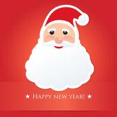 Santa Claus. Vector card for christmas design — Stock Vector