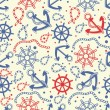 Royalty-Free Stock Vector Image: Seamless pattern with  anchors