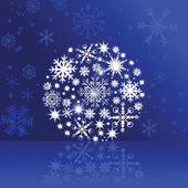 Cute christmas card. — Stock Vector