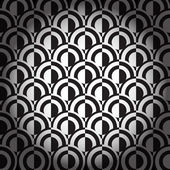 Black and white geometric background — Stock Vector