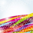 Abstract multicolored summer background — Imagen vectorial