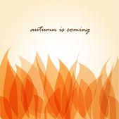 Folhas de outono — Vetorial Stock