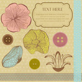 Vintage elements for your design — Stock Vector