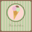 Ice Cream icon — Stock vektor