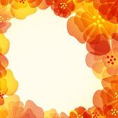 Abstract rose flower. Vector illustration — Stock Vector