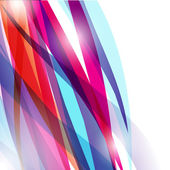 Neon lights graphic design abstract background. — Stock Vector