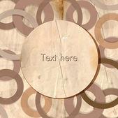 Vintage vektör arka plan, metin için yer ve eski kağıt — Stok Vektör