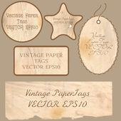 набор старинных карт вектор — Cтоковый вектор