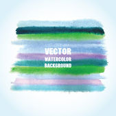 Watercolor vector background with place for your text. — Stock Vector
