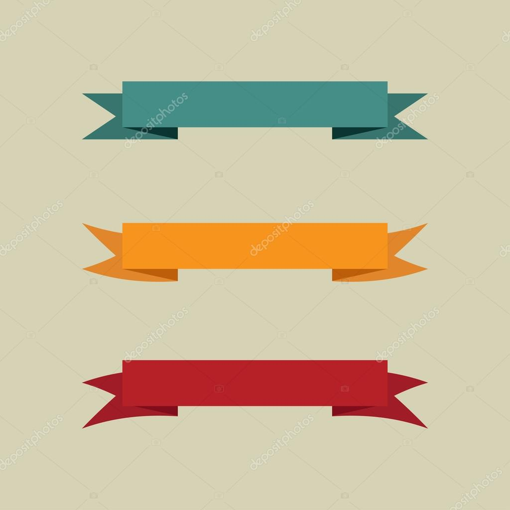 Set of vintage banners. Vector illustration. — Stock ...