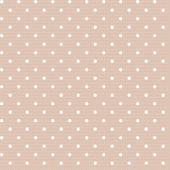 Seamless polka dot vintage pattern — Stock Vector