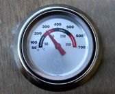 BBQ Thermometer — Stock Photo