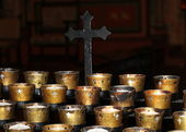 Church Candles — 图库照片