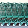 Shopping Carts - Stock Photo