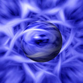 Blue Flame Background — Stock Photo