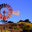 Water Pumping Windmill — Stock Photo
