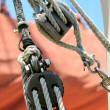 Block and Tackle — Stock Photo
