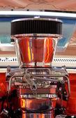 Хромовый двигатель — Стоковое фото