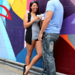 Couple Talking — Stock Photo #51589859