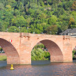 The Old bridge, Heidelberg, Germany — Stock Photo