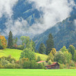 The Allgau Alps near the town of Oberstdorf, Germany — Stock Photo
