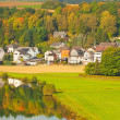 Suburbs of the city of Diez, Germany — Stock Photo