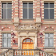 1892 building of former town hall and Amsterdam city archives — Stock Photo