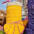 Annual flower pageant in Haarlem, The Netherlands - ストック写真